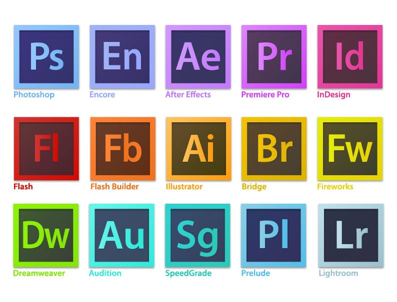 13 Adobe Software Logo Vectors Images