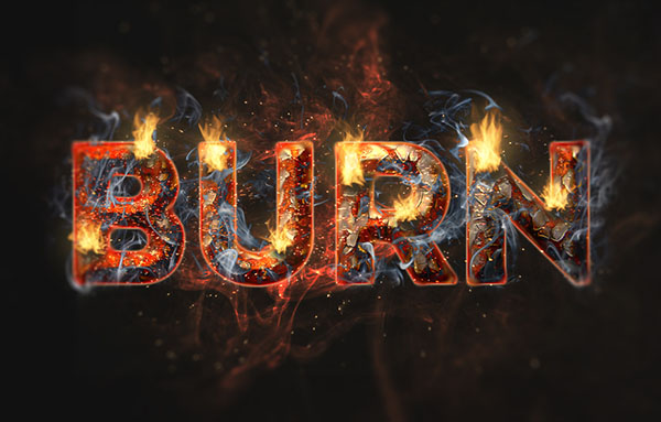 13 Fire Letters Font Generator Images - Fire Text Effect