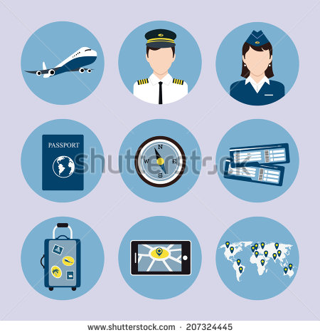 Airline Ticket Icon