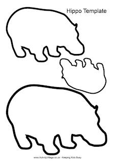 7 Animal Shapes Templates Images