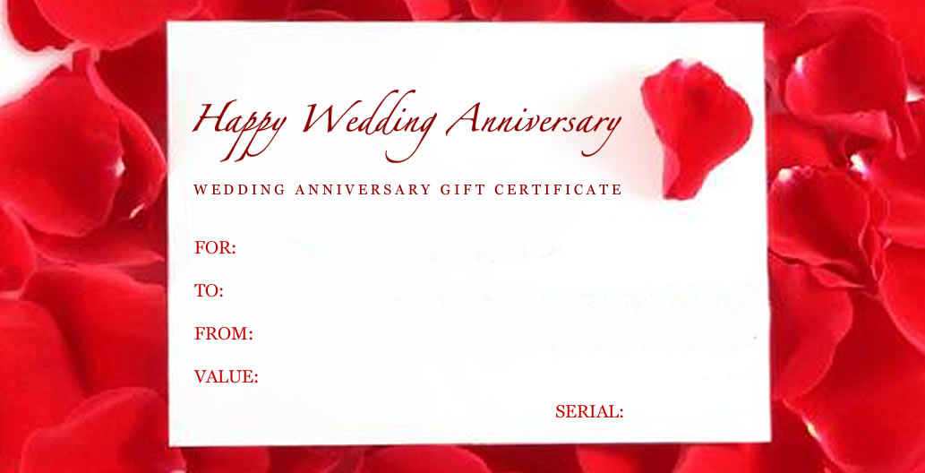 16 wedding anniversary templates free images anniversary for Wedding anniversary certificate template