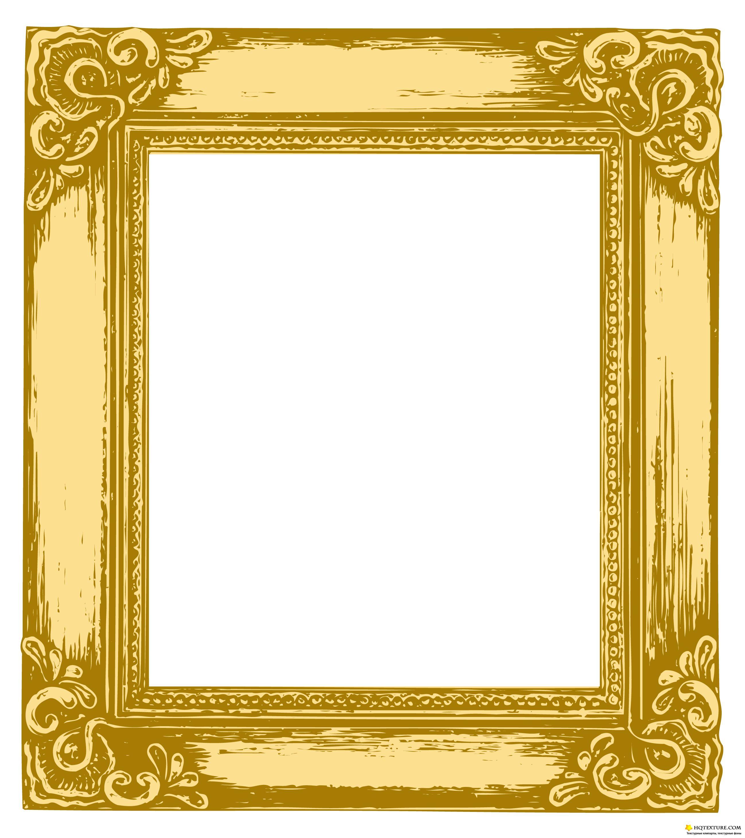 19 Vector Gold Frame Images