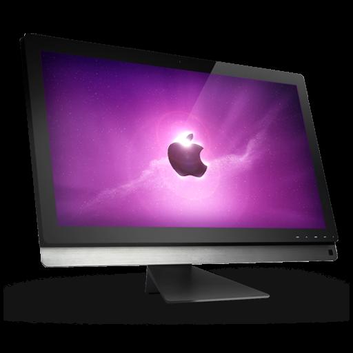 Apple Desktop Computer Icon