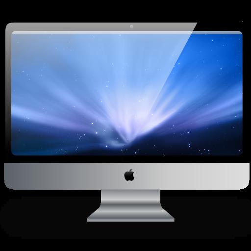 Apple iMac Desktop Icons