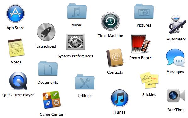 Apple Mac Desktop Icons