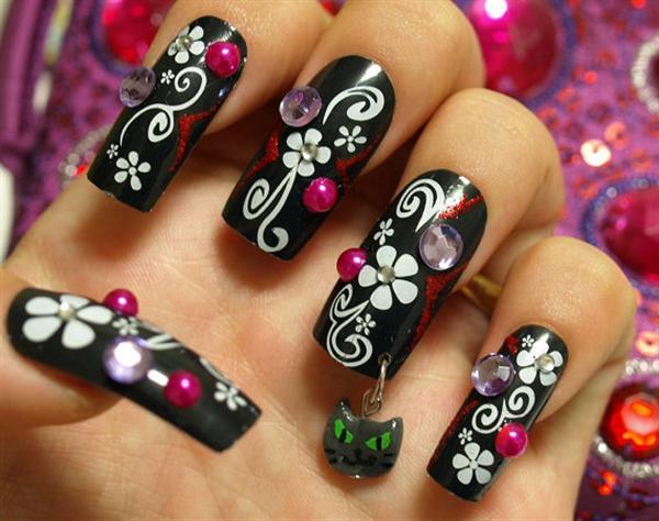 Beginners Nail Art Designs