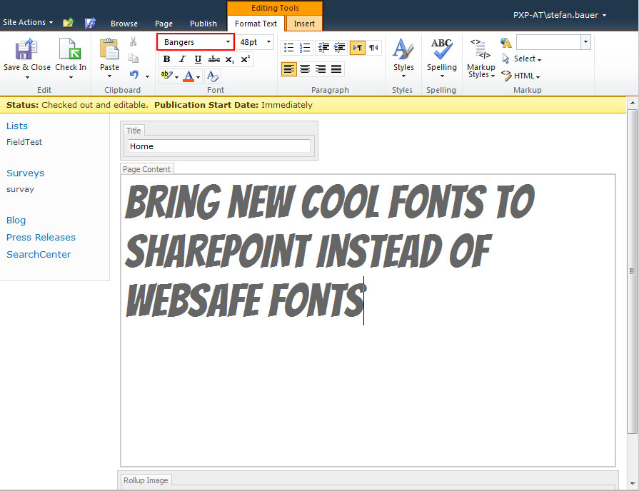 Best Font for Web Text