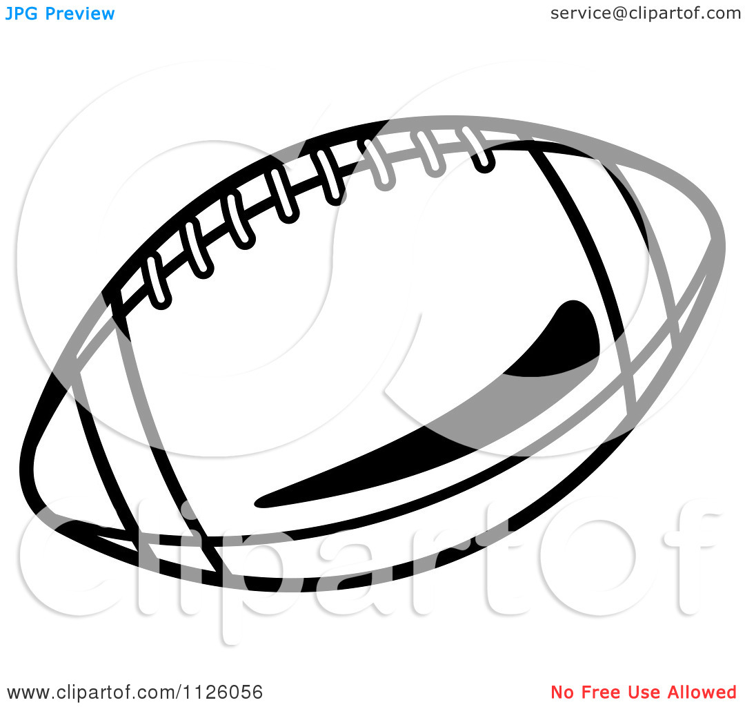 16 Black And White Football Vector Art Images Free