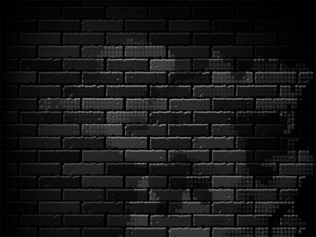 12 black and white background psd images black white for Black 3d brick wallpaper