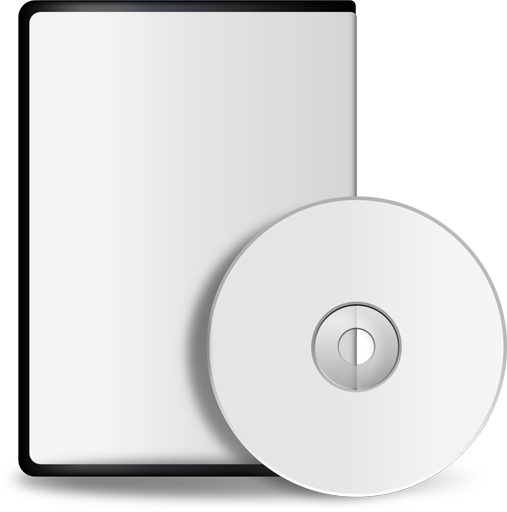 Blank CD Case Template
