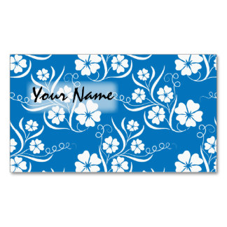 Blue and White Business Cards Backgrounds