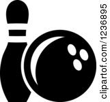 8 Bowling Pin Icon White Images