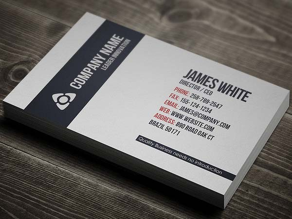 7 Corporate Business Card Design Images