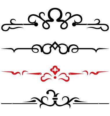 13 Free Calligraphy Border Designs Images Vintage Corner
