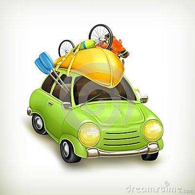 Car Travel Icon