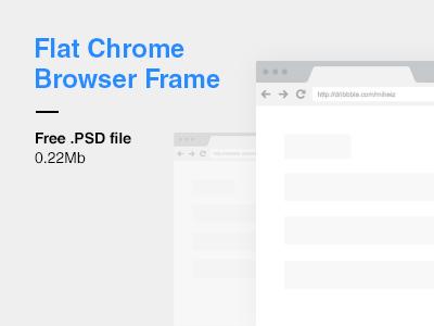 11 Chrome Border PSD Images