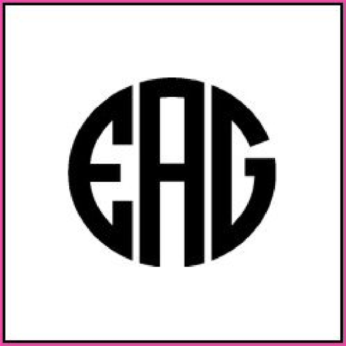 11 Monogram Font Maker Images - Monogram Font Generator