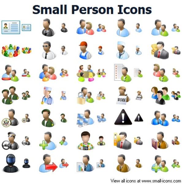 Computer People Icons