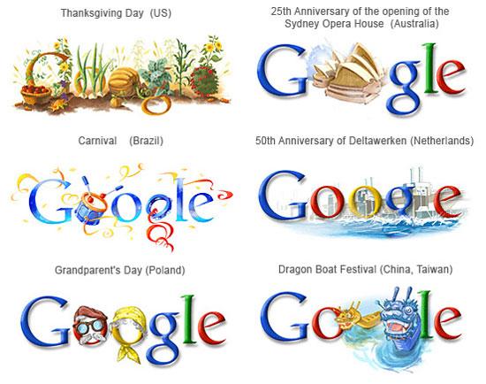 9 Google Logo Designs Images