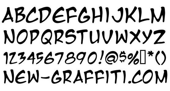 Download Graffiti Font Styles