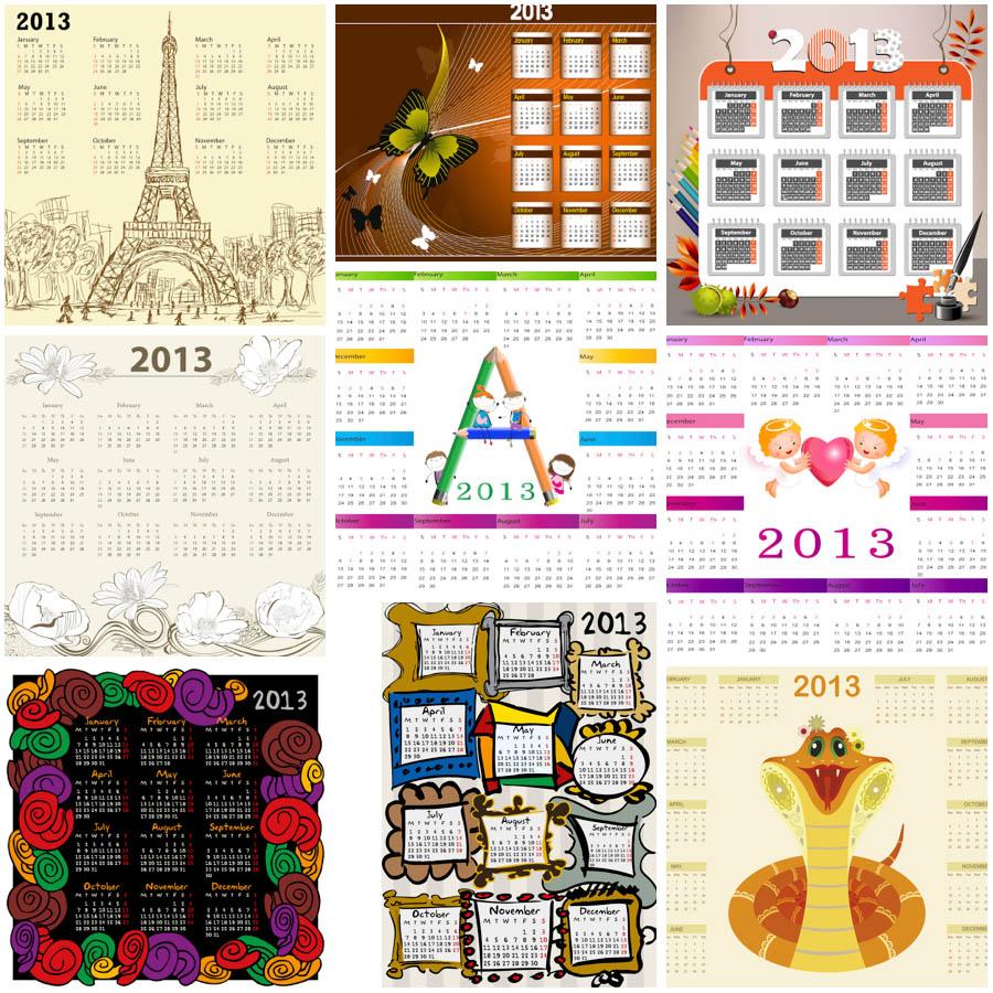 Free Calendar Templates 2013