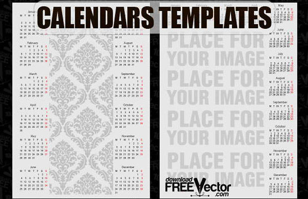 Free Calendars Templates to Download