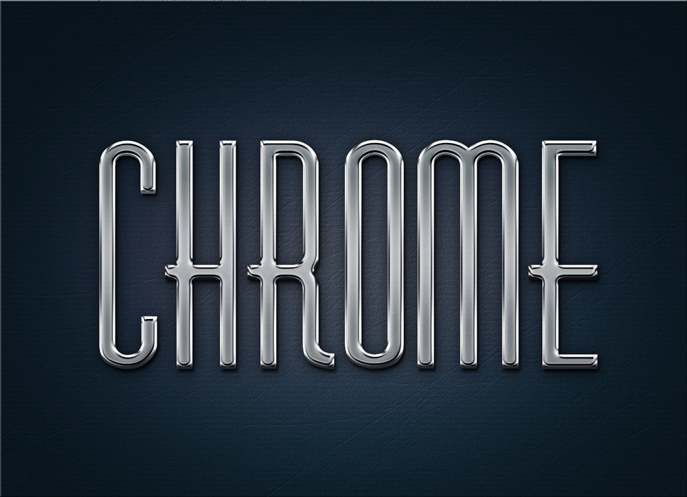 16 Style Chrome PSD Images