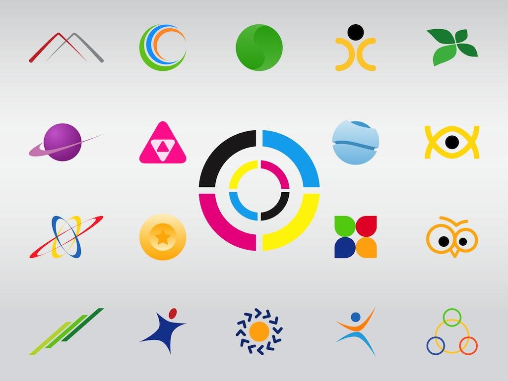 Free Vector Shapes Logo