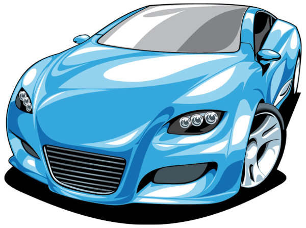 Free Vector Sports Car