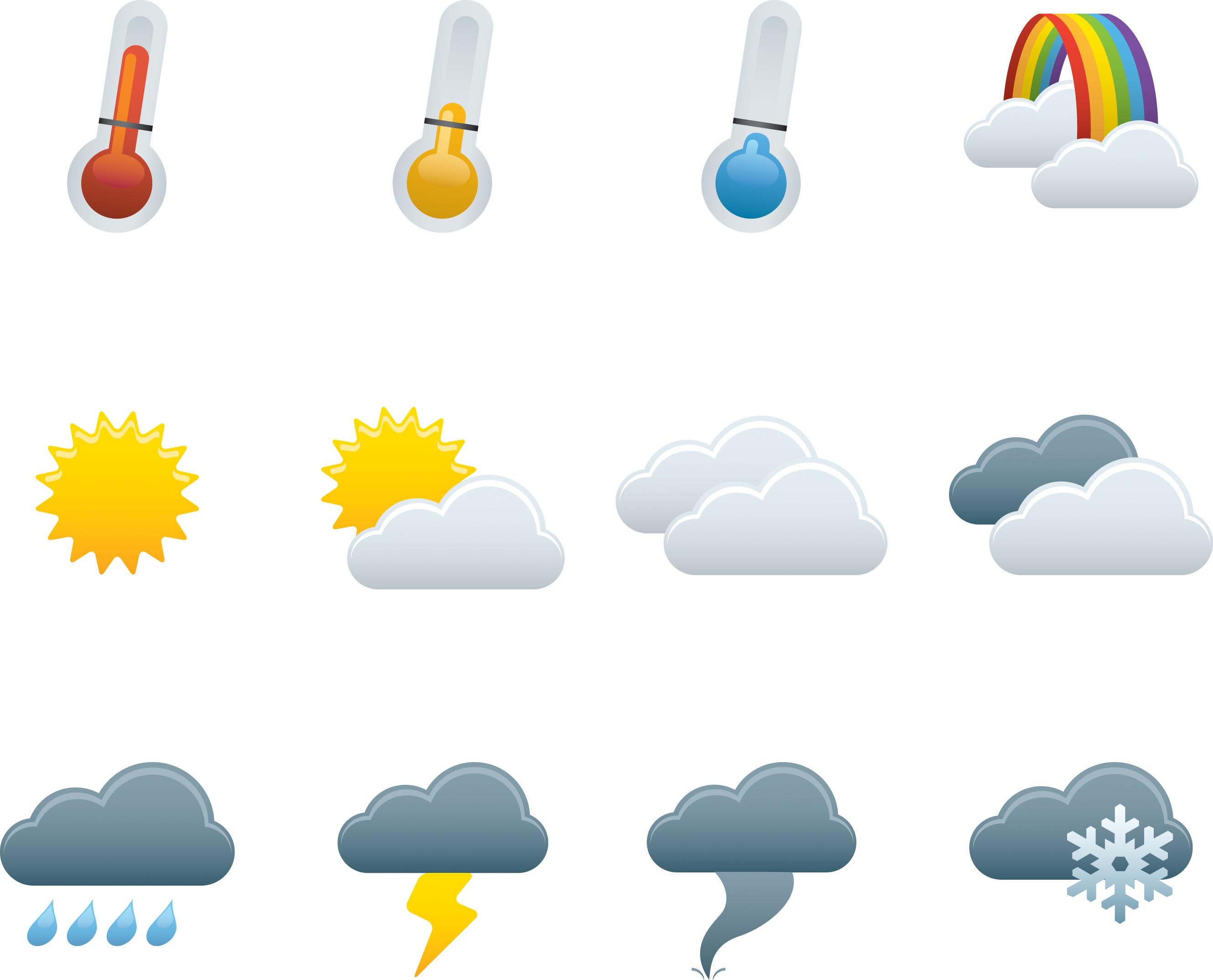 15 Free Vector Weather Images