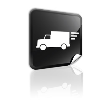 17 Ocean Container Truck Icon Images