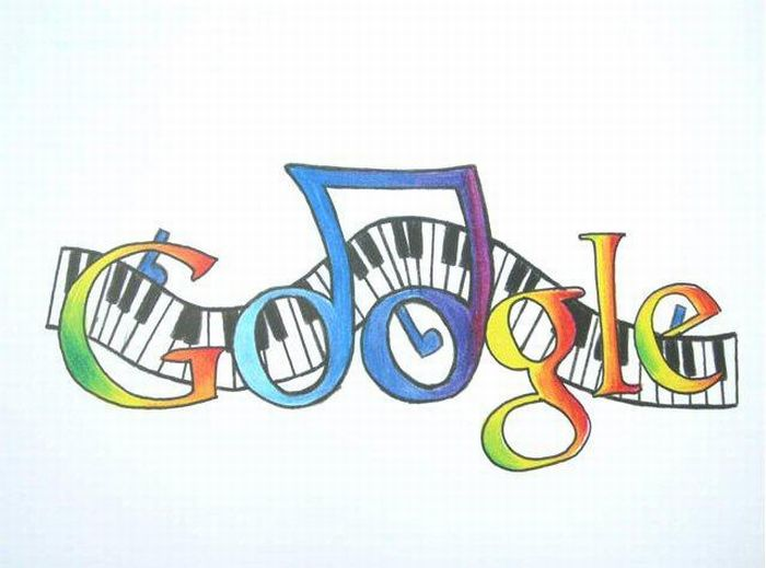 Google Logo Drawings
