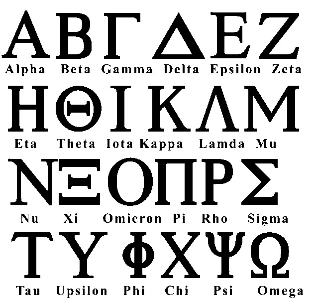 Greek Alphabet Font Download