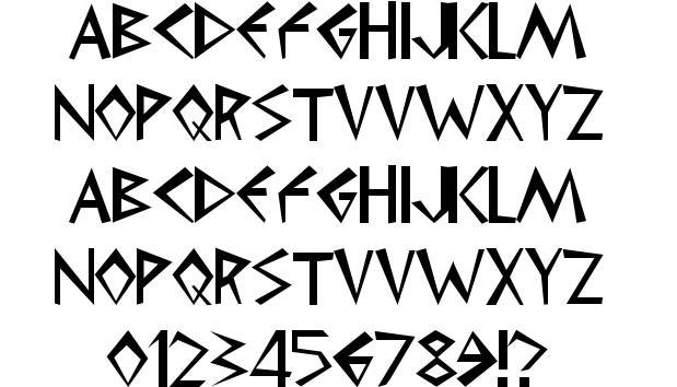 Greek Alphabet Font Free Download