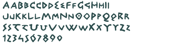 Greek Letter Font Free Download