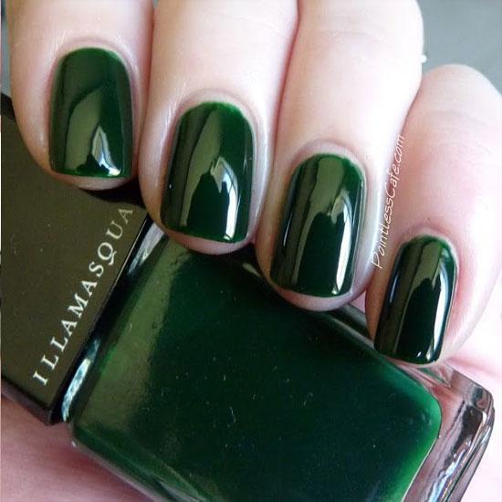 Green Nail Art Design