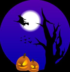 Halloween Scene Clip Art