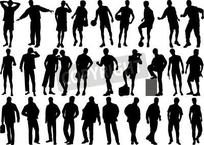 Human Figure Silhouette
