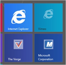 13 Internet Explorer Tile Icon Images