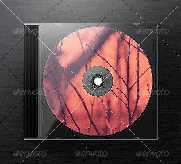 Jewel CD Case Mock Up