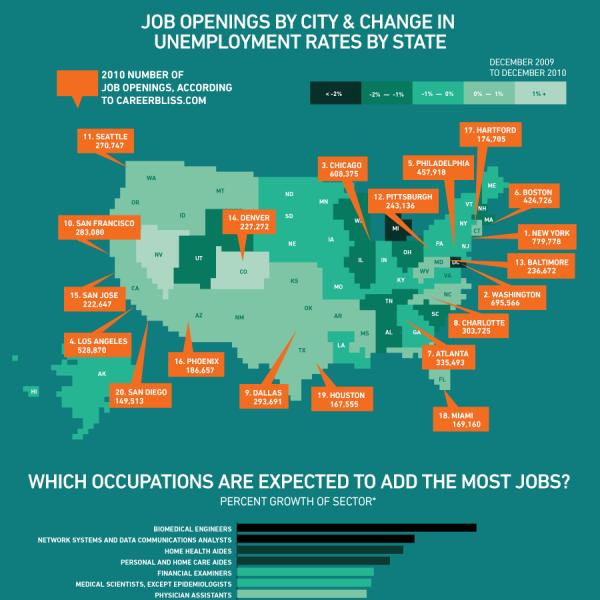 Job Statistics Infographic