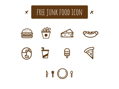 Junk-Food Icons