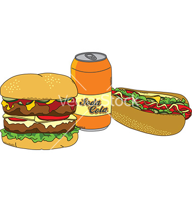 Junk-Food Vector