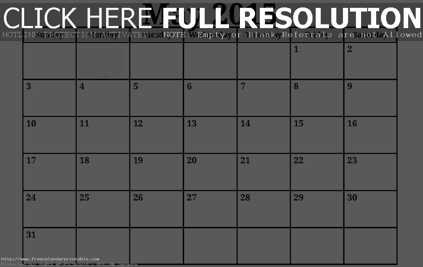 14 Free Calendar Templates Images - Free Monthly Calendar Template ...