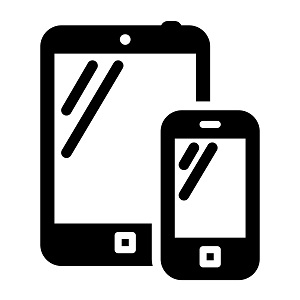 6 Mobile Device Icon Images