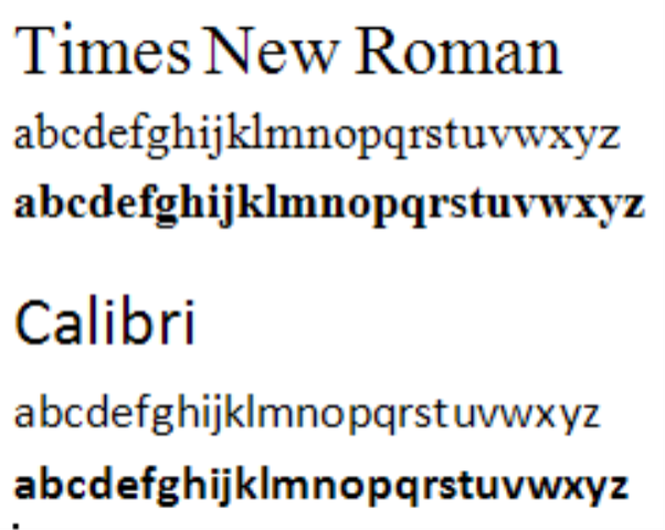 6 Times New Roman Font Microsoft Word Images