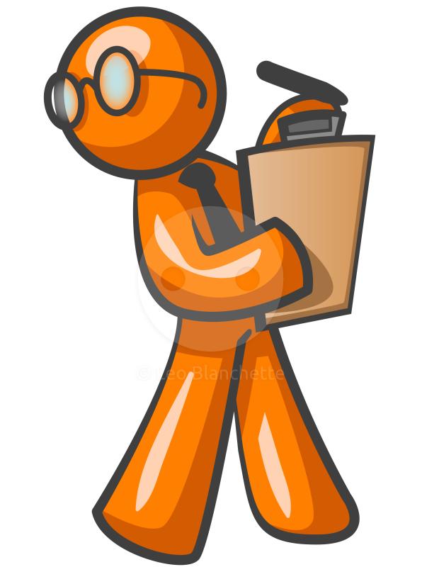 Orange Man Clip Art