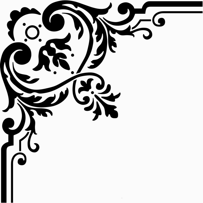 Page Corner Border Designs