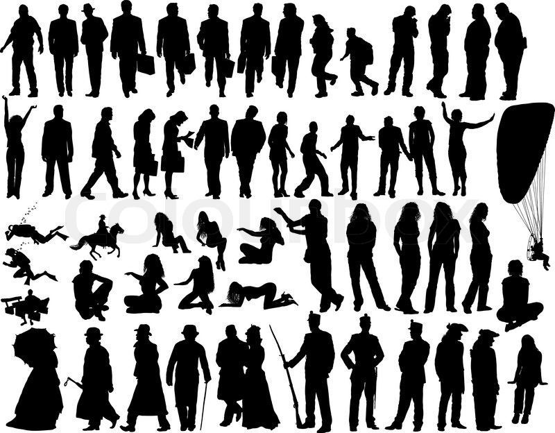 Person Silhouette Vector