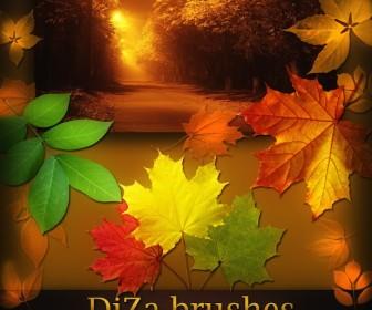 10 Autumn Vector Photoshop Images